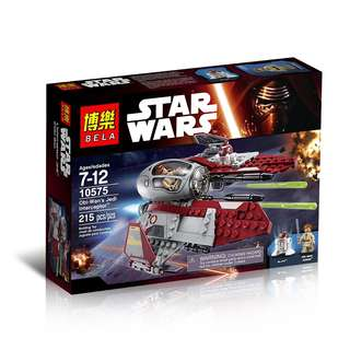 BELA™ 10575 Star Wars Jedi Obi-Wan Interceptor