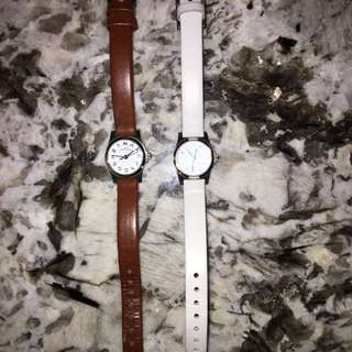Marc Jacobs Authentic Watch white and brown option