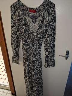 Tigerlily Long Wrap Dress