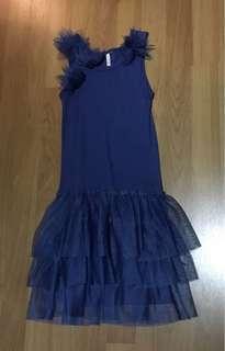 Cotton On blue sleeveless princess dress