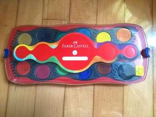 Faber Castell 水彩 12色