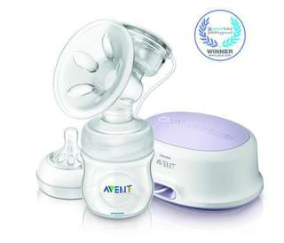🚚 PHILIPS AVENT SINGLE ELECTRIC PUMP