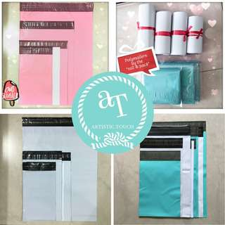 Baby Pink, White & Tiffany Polymailers