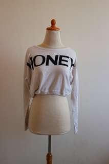 Honey crop tee
