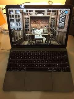 Macbook Retina 12inch, Space Grey