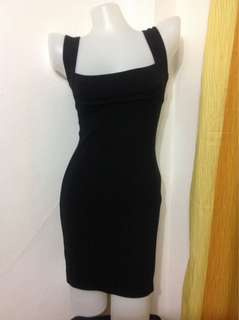 Black BodyCon Dress (Small-semiMedium frame)