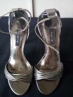 FIGILA  Silver/gray high heels