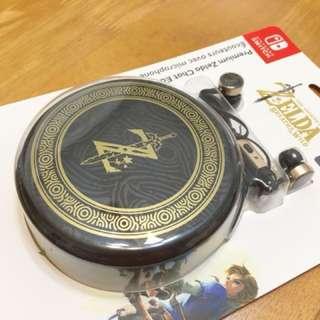 🚚 Nintendo Switch NS 任天堂 薩爾達傳說 荒野之息 曠野之息 Zelda 耳機 麥克風 收納包