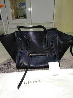 Celine Bag Phantom Black - Big size (original) preloved