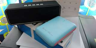 Power bank and Bluetooth speaker