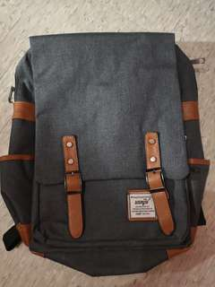 Grey School Backpack FREE SHIPPING