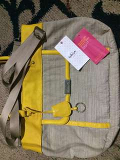 Authentic Kipling Bag with tag but with flaws see the pics below