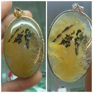 Root fossil pendants / liontin