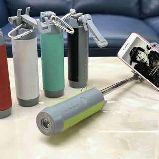 5 in 1 monopod, bt speaker, flashlight, camera shutter, cp stand