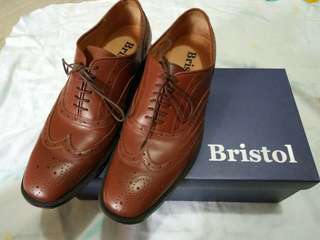 Bristol casual brown leather shoes