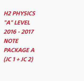 ∆ H2 PHYS NOTE (PACKAGE A) SOFTCOPY