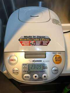 Zojirushi Rice Cooker 1L Made in Japan