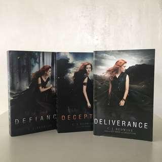 Defiance Trilogy by C.J. Redwine