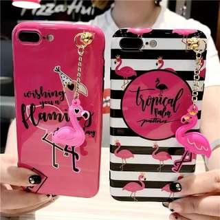 PO Flamingo iPhone Casing