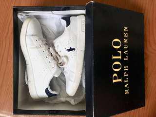 Ralph Lauren White Sneakers