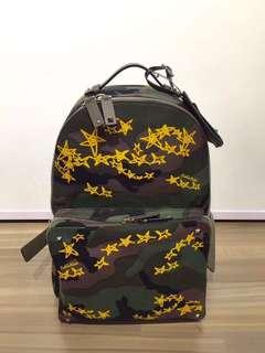 Valentino Zandar Stars Backpack Real and New Dimensions: W33xH41xD21 cm