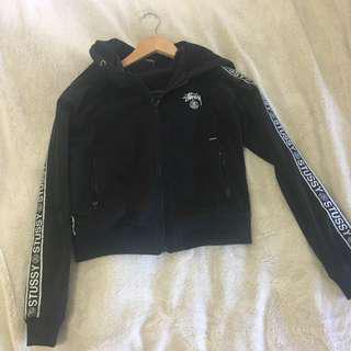 Cropped Stussy Zip Jacket