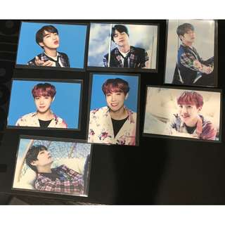 BTS Wings Tour PC's