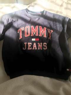 Tommy Jeans Navy Crewneck Jumper