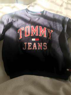 Tommy Jeans Navy Crewneck Jumper