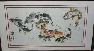 画家朱法鹏 Chinese painting