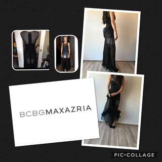 BCBG Black Dress Size xsmall **wedding season**