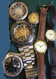 Seiko Orient vintage 錶