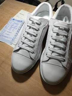 古馳 小白鞋 休閒鞋慢跑鞋 透氣時尚運動鞋