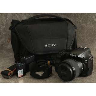 Sony A3500 20.1 Sony Exmor Cmos Sensor Mirrorless Camera
