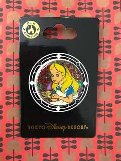 迪士尼徽章 愛麗絲Alice徽章