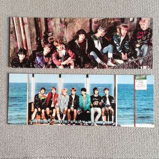 BTS Unofficial Bookmarks