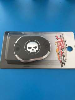 Iron 883 1200 skull design brake reservoir cap new in use
