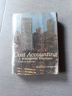 Cost Accounting▪A Managerial Emphasis