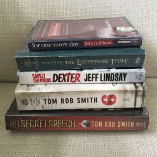 Some Fiction Books