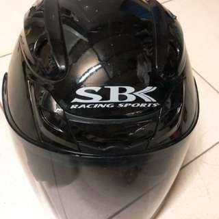 SBK安全帽 9成新 已清洗(L)