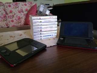 Nintendo 3DS XL and Nintendo 2ds
