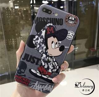 Soft Case iPhone Mickey 7+ / 8+