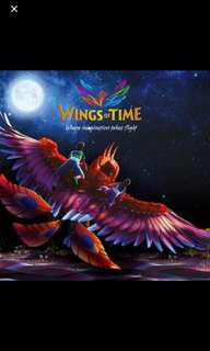 Wing of time eticket
