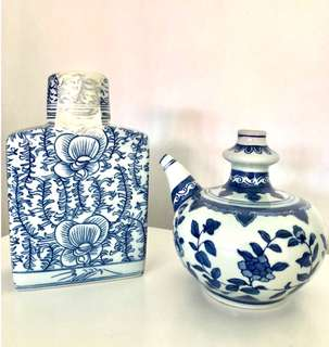 Peranakan Style Porcelain Containers Set
