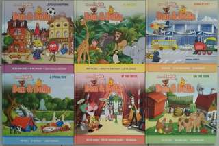 Discover English with Ben and Bella , 6 storybooks,  9 supplementary books, 22 DVDs, Suitable for children till 6 years old