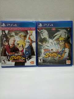 PS4 Games - Naruto Storm 4 Boruto [New]