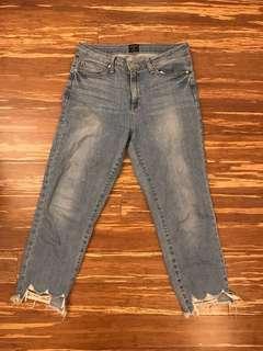 Just Black Shark Bite Jeans - Size 27 (M Boutique)