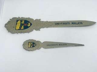 HARI RAYA SALES. Universiti Malaya Letter Opener