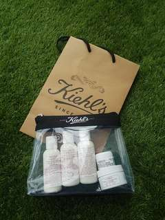 Free mail BN Kiehl's travel set