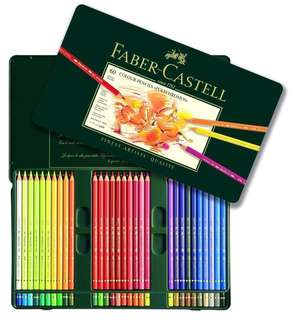 Faber-Castell Polychromos 60 in Metal tin